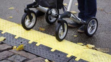 Veilig op stap met uw rollator in de regen!
