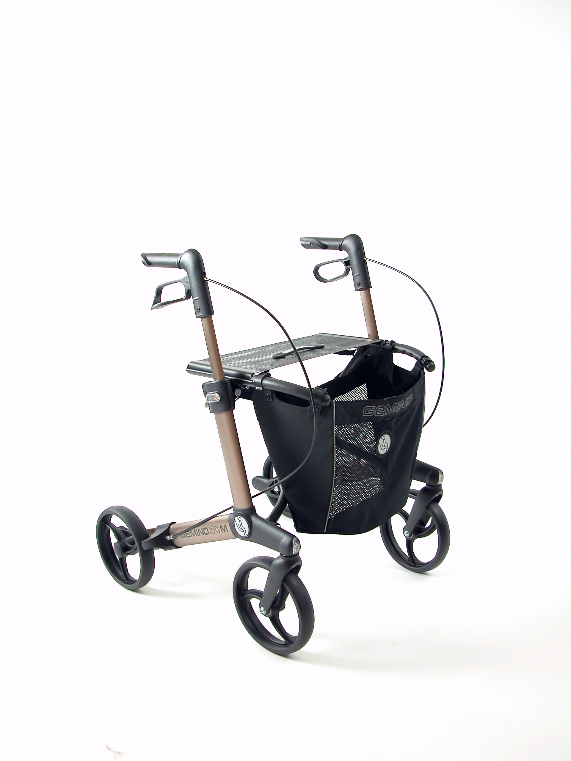 Gemino 30 M rollator van Sunrise Medical in Champagne