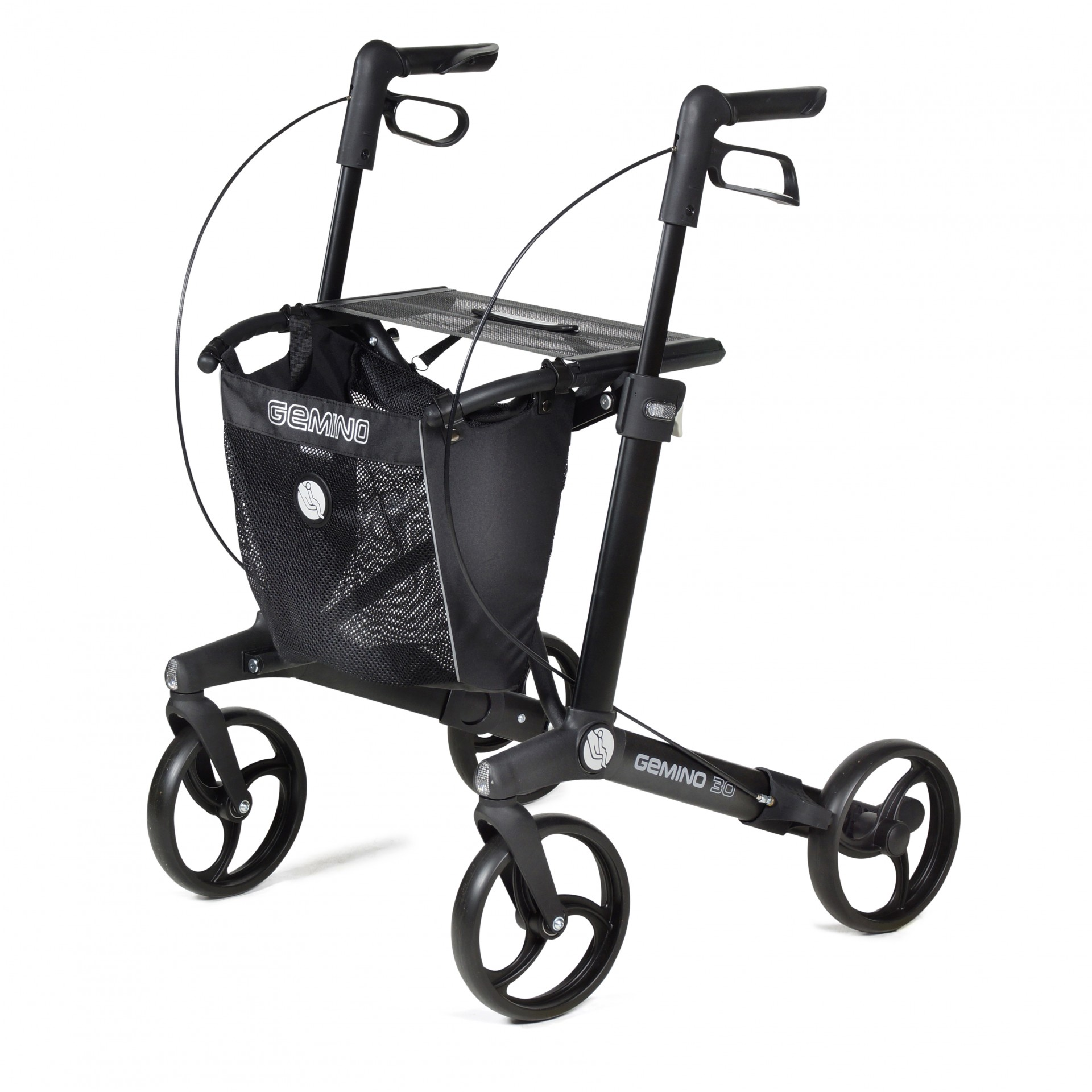 Gemino 30 rollator van Sunrise Medical in zwart
