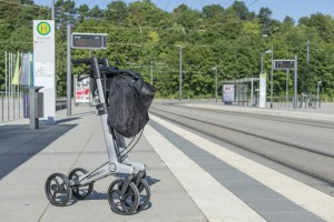 Gemino 20 rollator van Sunrise Medical staand