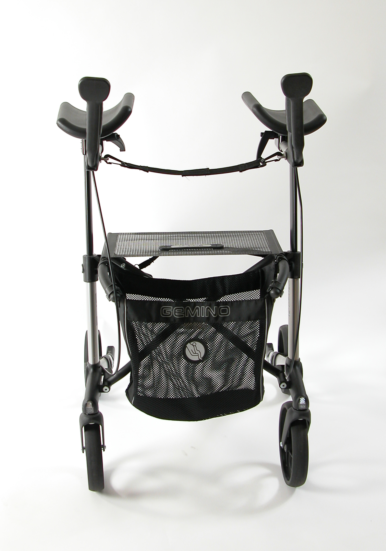 Vooraanzicht Gemino 30 Walker rollator van Sunrise Medical