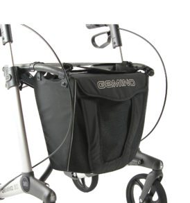 Gemino 30 rollator met luxe zwarte tas van Sunrise Medical
