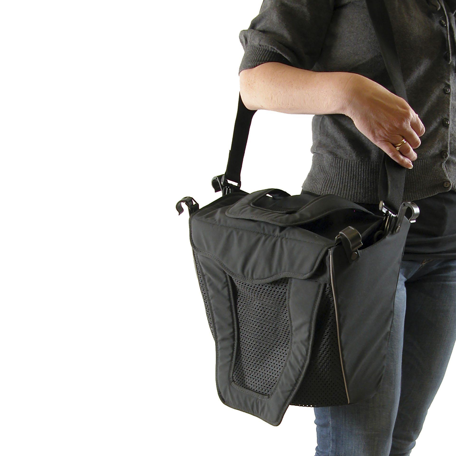 Gemino rollator met schouder tas van Sunrise Medical