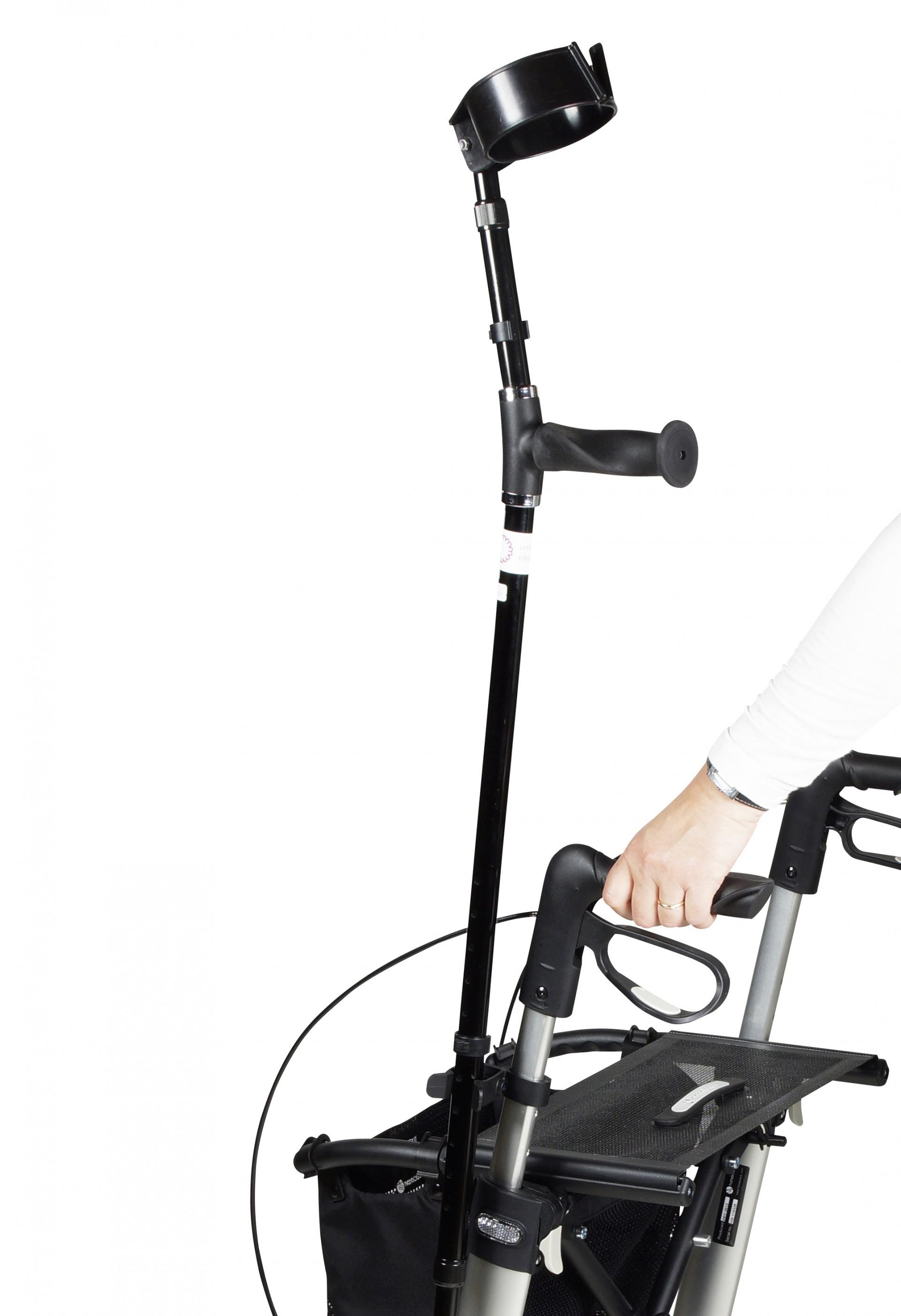 Stokhouder voor Gemino rollator van Sunrise Medical