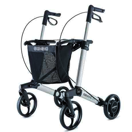 Gemino rollator met SpeedControl van Sunrise Medical
