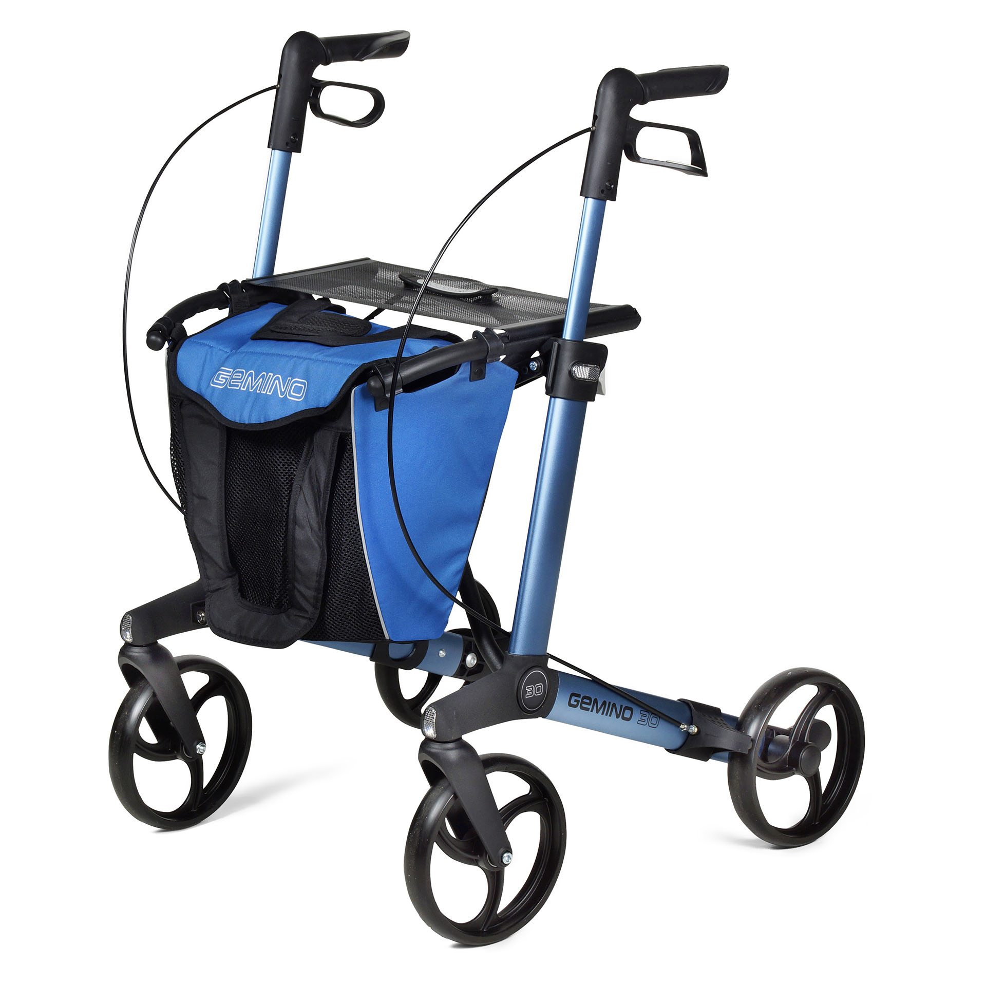 Gemino 30 rollator Blue van Sunrise Medical