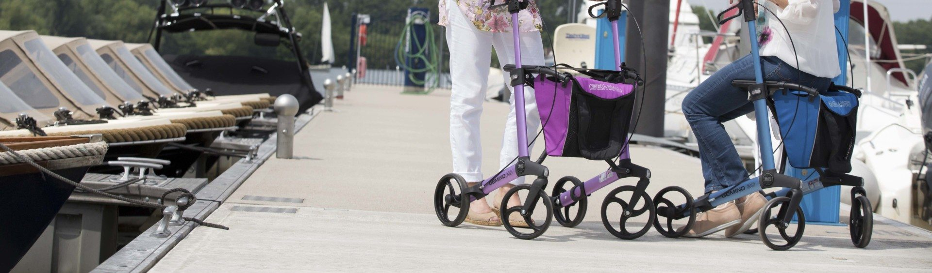 Gemino rollator van Sunrise Medical