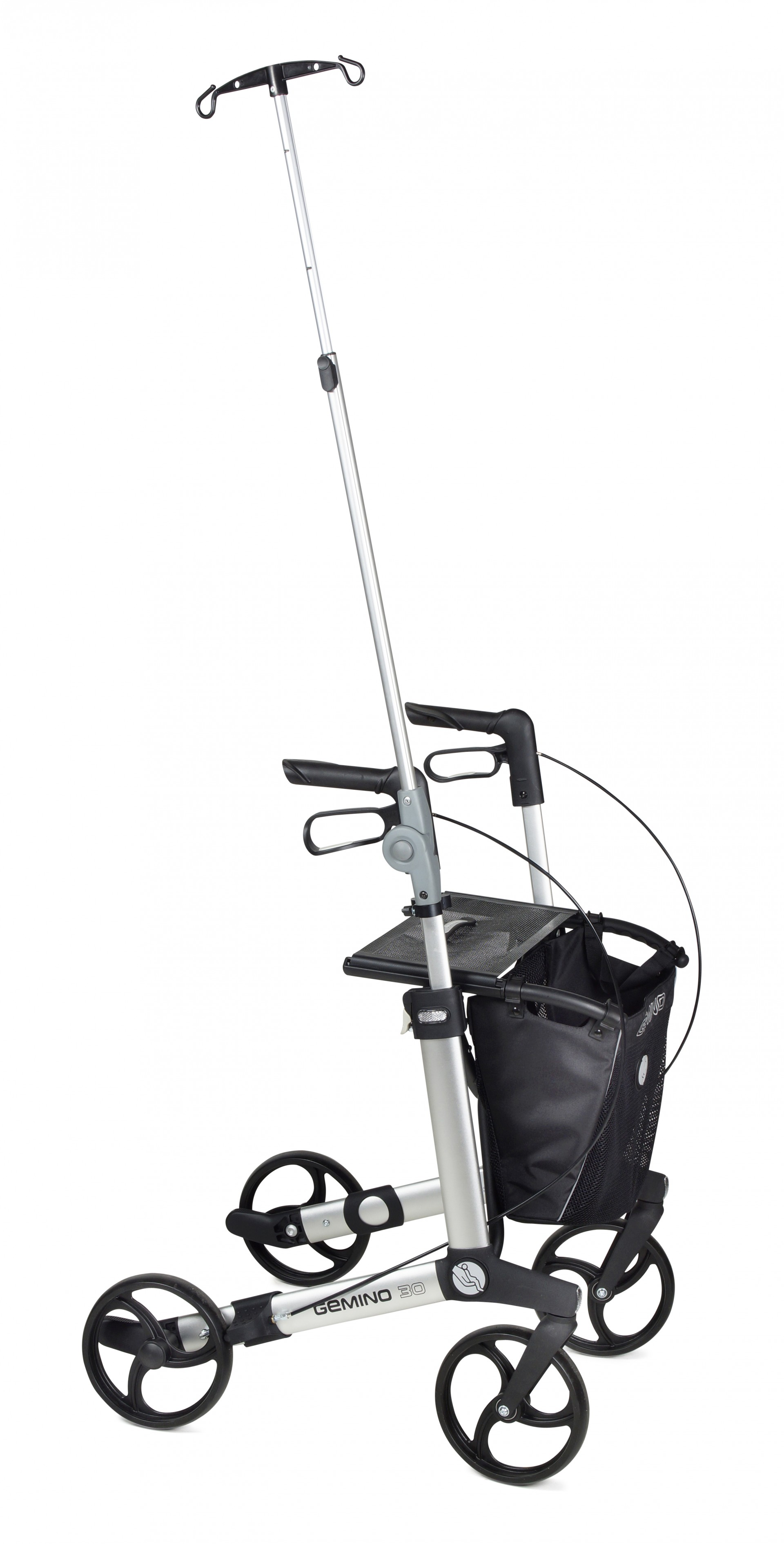 Infuushouder Gemino 30 rollator van Sunrise Medical