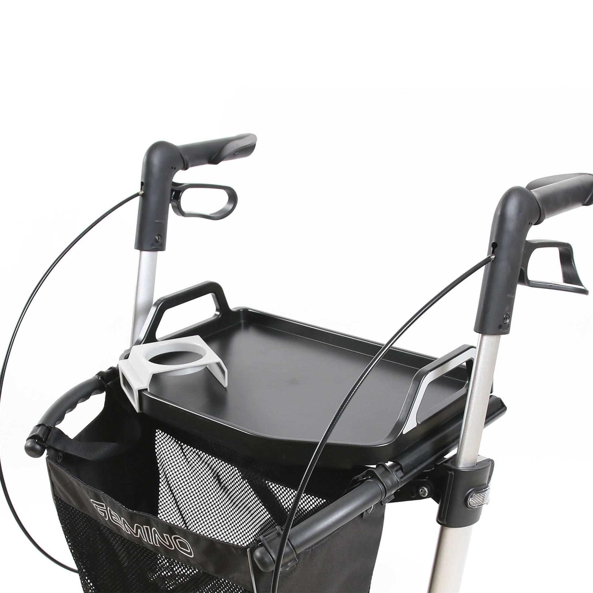 Gemino rollator met tafelblad van Sunrise Medical
