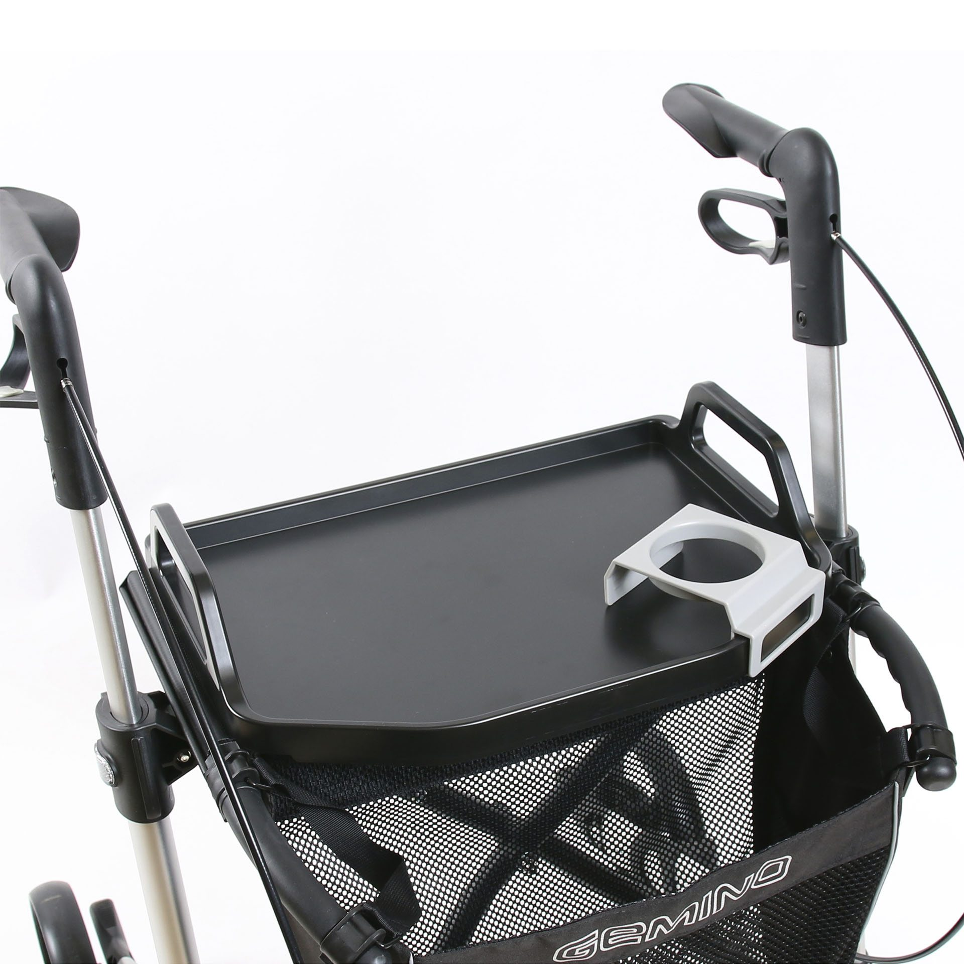 Gemino rollator met tafelblad van Sunrise Medical