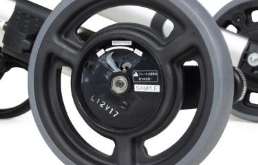 Binnenkant van banden van de Gemino 30 SpeedControl rollator