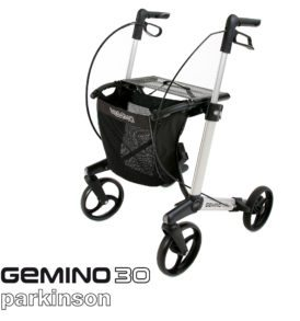 Gemino 30 Parkinson rollator van Sunrise Medical