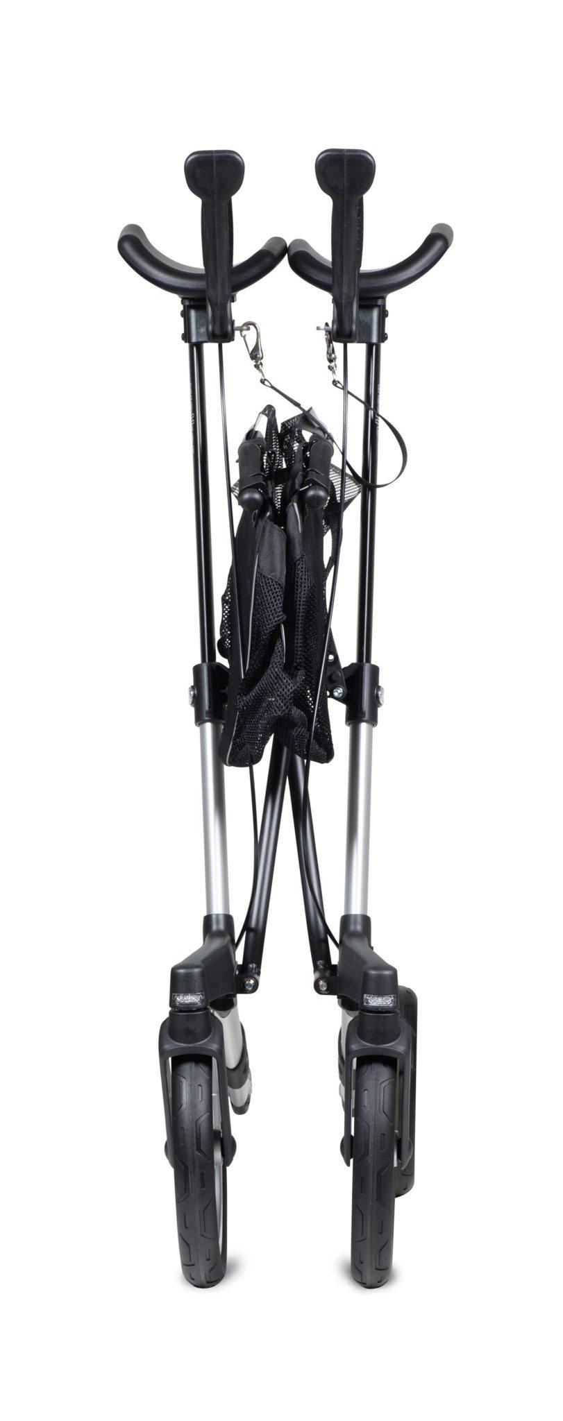 Gemino 60 Walker van Sunrise Medical met onderarmschalen en luchtbanden